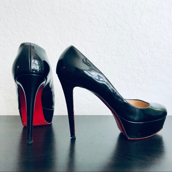 684795186 Christian Louboutin Shoes - ⭐️OPEN TO OFFERS ⭐ Bianca 120 Black Patent Pumps